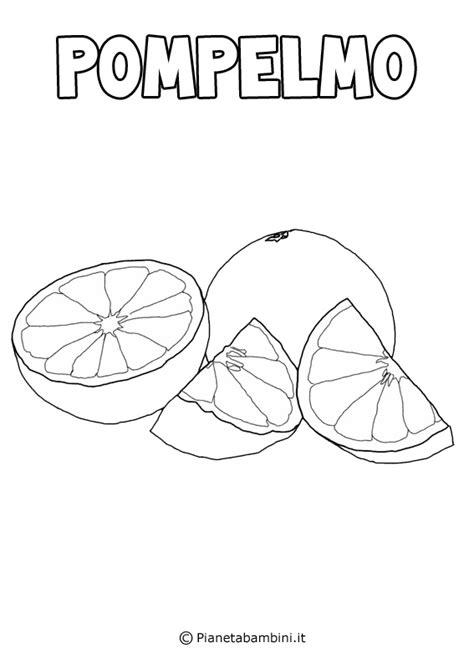 disegni  frutta da stampare  colorare pianetabambiniit