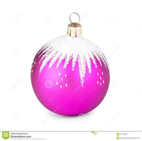 pink christmas ball royalty free stock photos image 27746288