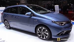 Toyota Auris 2015 : 2016 toyota auris hybrid touring sports exterior and interior walkaround 2015 geneva motor ~ Medecine-chirurgie-esthetiques.com Avis de Voitures
