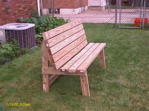 Convertible Park Benchpicnic Table  By Joe Cumbo
