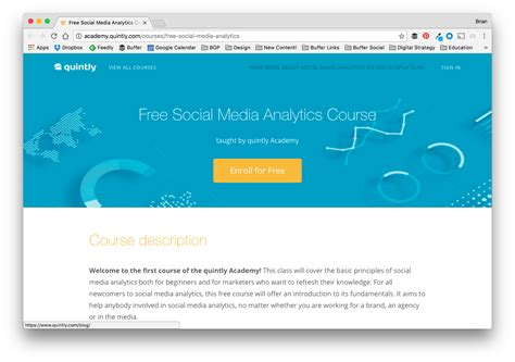 marketing analytics course free 37 free social media and marketing courses to elevate your