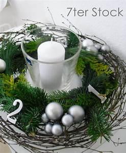 Weihnachtsgestecke Selber Machen : sooth s bastelkram und d ntjes ideen f r den adventskranz adventsgesteck ~ Whattoseeinmadrid.com Haus und Dekorationen