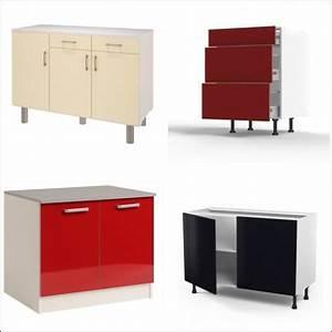 Meuble Cuisine Pas Cher : meuble bas de cuisine pas cher cuisine en image ~ Teatrodelosmanantiales.com Idées de Décoration