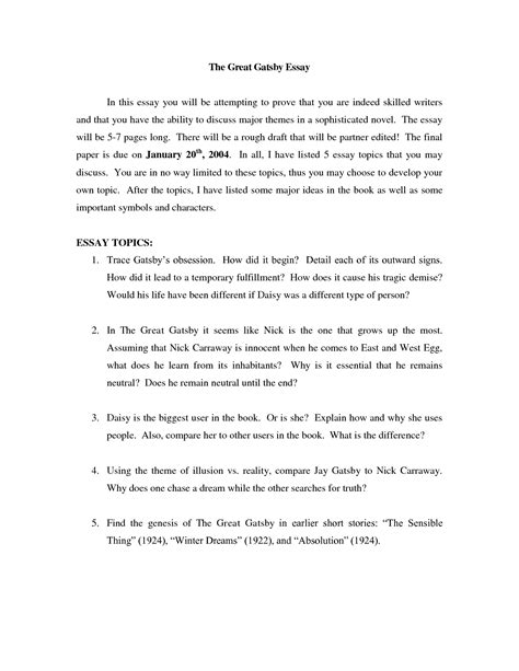 Story Cover Letter by 51 Exles Essays Informative Essay Exle Essay