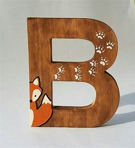 wooden letters for nursery woodland nursery decor hand With painted wooden letters nursery
