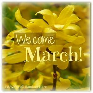 Welcome March! | ⓣⓡⓤⓔ, ⓓⓐⓣ ② | Pinterest