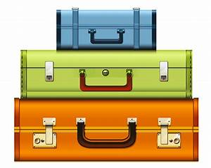 45+ Suitcases Clipart