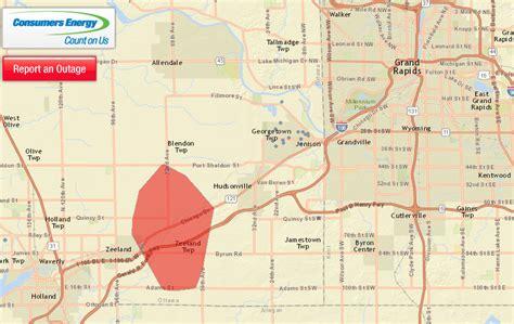 power restored  jenison area    electricity