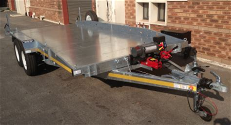 Boat Trailers For Sale South Africa by New Car Recovery Trailers For Sale Axle Bra South
