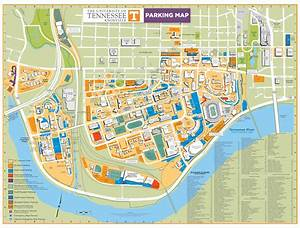 Campus  Special Events  And Knoxville Maps