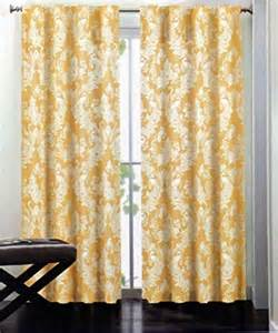 miller set of 2 window panels curtains drapes padoga floral birds pattern in white on