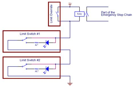 wiring diagram of limit switch 8 best images of cnc schematic diagram limit switch