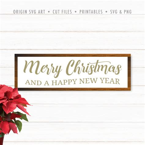 Upgrade to save unlimited icons. Merry Christmas and Happy New Year for Cricut Cutting File ...