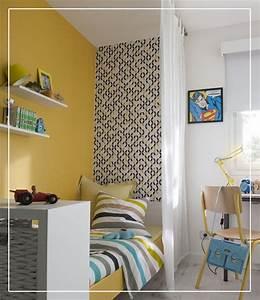 Le Papier Peint Jaune : les 55 meilleures images du tableau chambres d 39 enfants sur ~ Zukunftsfamilie.com Idées de Décoration
