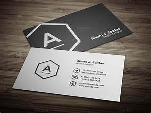 Black white business card business card templates on for White business cards