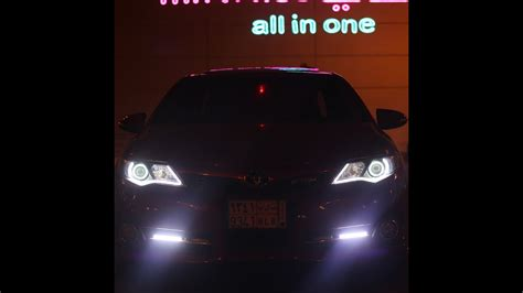 camry led headlights  shmaaat kamry  tolyf youtube