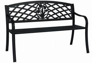 Gartenbank Metall 2 Sitzer : gartenbank 2 sitzer st james metall verzinkt schwarz pulverbeschichtet ebay ~ Indierocktalk.com Haus und Dekorationen