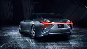 2017 Lexus LS Plus Concept 4K 5 Wallpaper HD Car