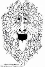 Patterns Wood Coloring Pages Colouring Doodle Tangle Knockers Door Embroidery Pattern Irish Figureheads Carvings Ship Spirit Spirits Drawings Adult sketch template