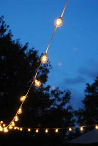 How to hang outdoor string lights the deck diaries part