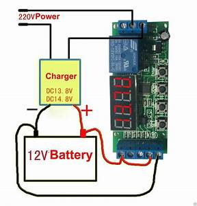 12v Automatic Battery Charger Charging Controller