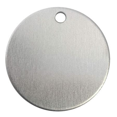 RMP Stamping Blanks, 1 1/4 Inch Round Blank With Hole ...