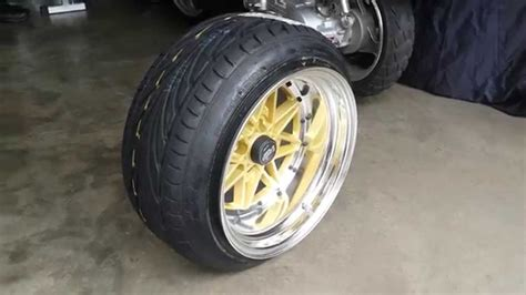 195/45 Stretched Tires 15x10