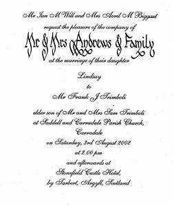 wedding invitations With free wedding invitation wording templates uk