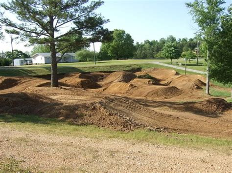 Awesome Little Backyard Track For Our Dirt Bikes & Four