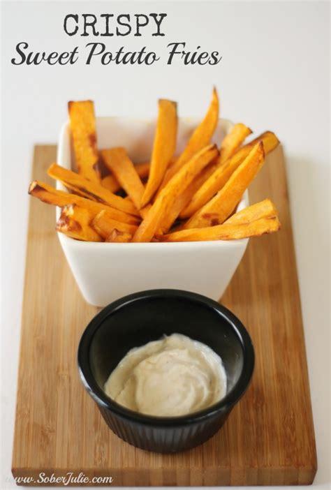potato sweet fries crispy fryer air airfryer recipes perfect soberjulie potatoes recipe philips fried sober deep fry jays chips julie