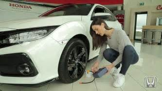 How To Use A Honda Civic Tyre Repair Kit