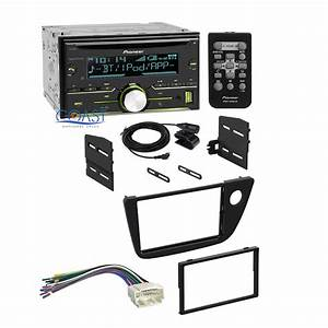 Pioneer Radio Stereo Double Din Dash Kit Wiring Harness