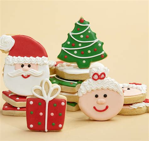 hand decorated christmas cookies bakers  artists