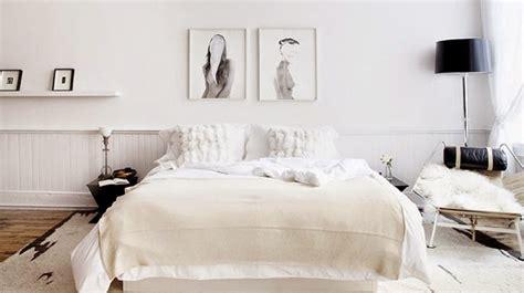 decoration chambre blanche 30 inspirations déco pour la chambre déco mydecolab