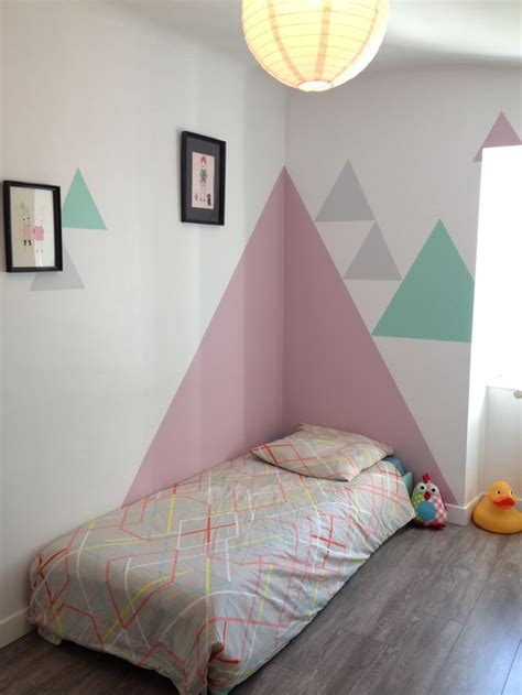 triangles on the wall mommo design