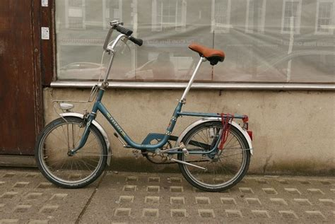 Peugeot Folding Bike by Vintage Peugeot Folding Bike With New City Proof Wheels