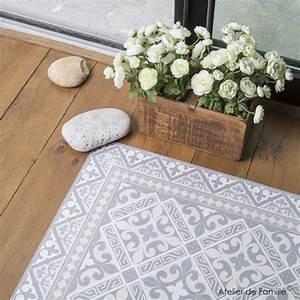 Tapis Vinyl Salon : tapis vinyle pour la cuisine tapis vinyl coup de c ur ~ Melissatoandfro.com Idées de Décoration