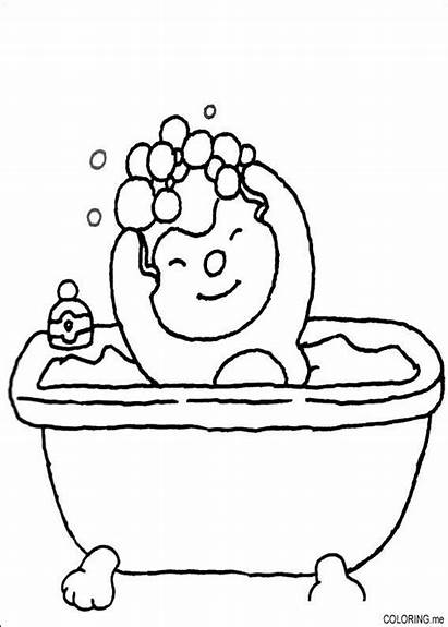 Coloring Pages Bath Charley Mimmo
