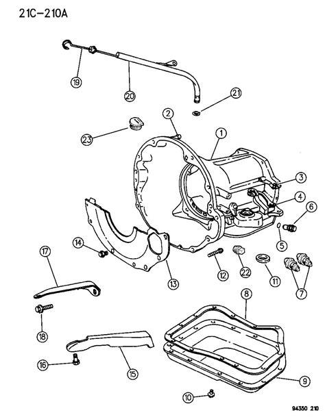 42rh Transmission Diagram by 04295875ac Mopar Gasket Pan Bnd Factory Chrysler