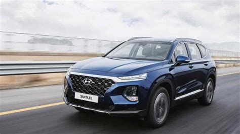 India-bound 2019 Hyundai Santa Fe Launched In Us From