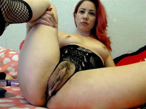 Femme Sexy Aux Cheveux Rouge Qui S Amuse Carter Sa