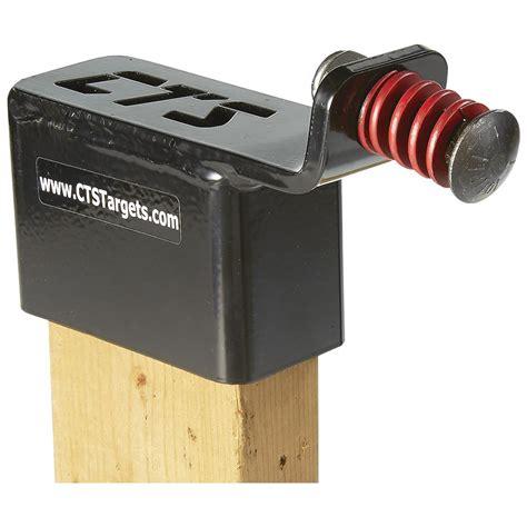 cts steel plate target holder   grade  bolt     shooting targets