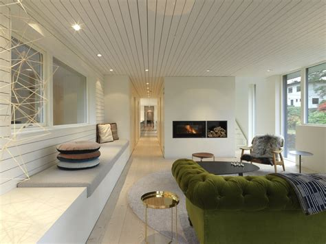 modern suburban villa  norway idesignarch interior