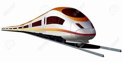 Train Speed Clipart Modern Express Speeding Bullet