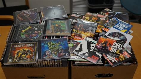 Were Giving Away A Bunch Of Old Games And Demo Discs