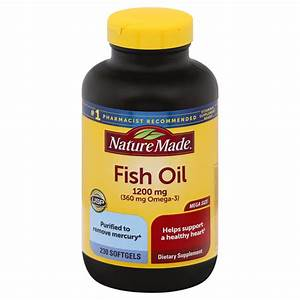 Save On Nature Made Fish Oil 1200 Mg  Omega