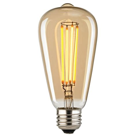 elk lighting filament 4 wattage medium led light bulb