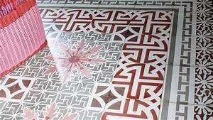 VIA Mosaikfliesen Zementfliesen Kreidefarbe