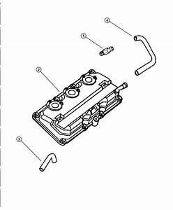 Dodge Intrepid Hose  Cylinder Head To Intake Manifold Pcv
