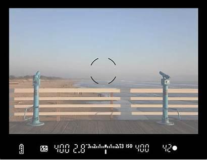 Canon Exposure Viewfinder Compensation Flash 7d Camera